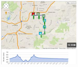 St.Patricks Day Half Marathon Course